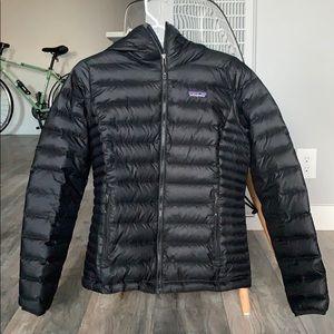 Patagonia Women's Down Sweater Hoody Black S